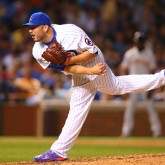 MLB: San Francisco Giants at Chicago Cubs