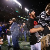 MLB: NLDS-St. Louis Cardinals at Chicago Cubs