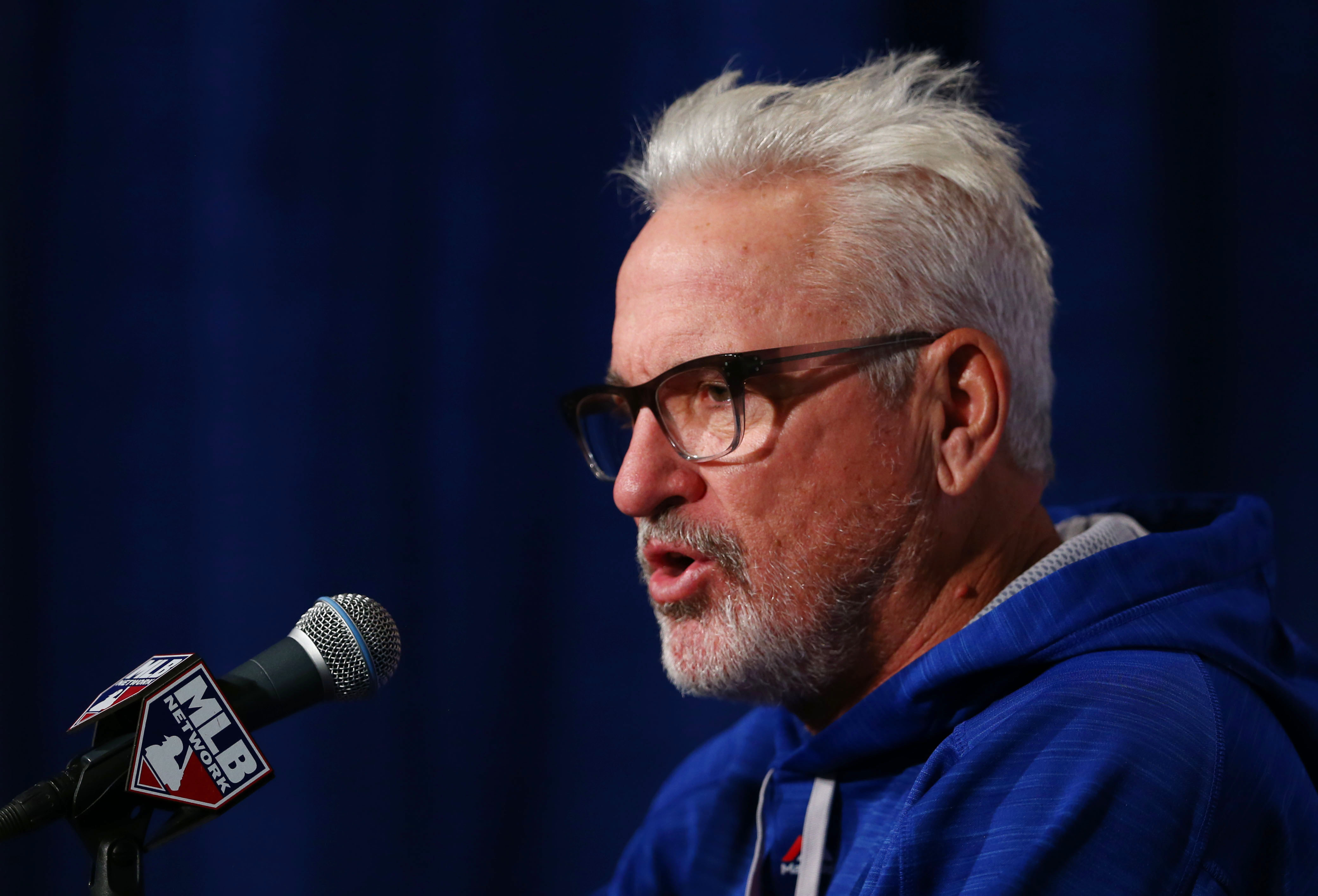 MLB: NLCS-New York Mets at Chicago Cubs-Workouts