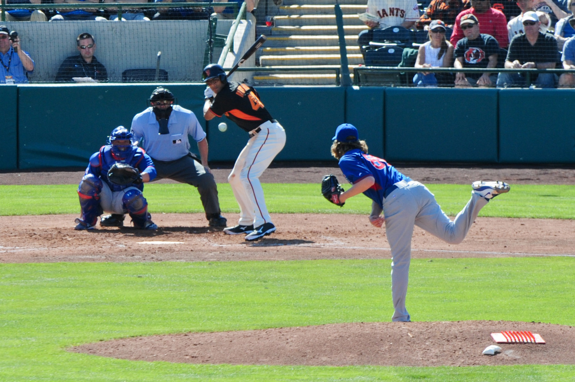 MLB: Chicago Cubs at San Francisco Giants
