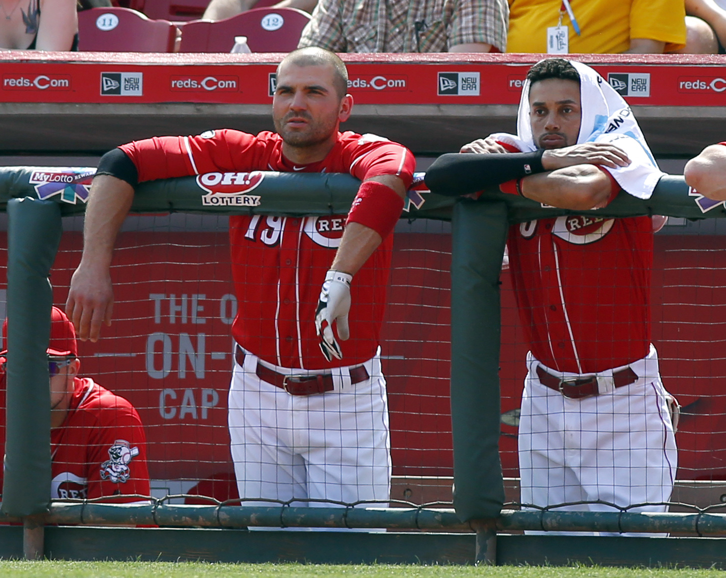 MLB: Colorado Rockies at Cincinnati Reds