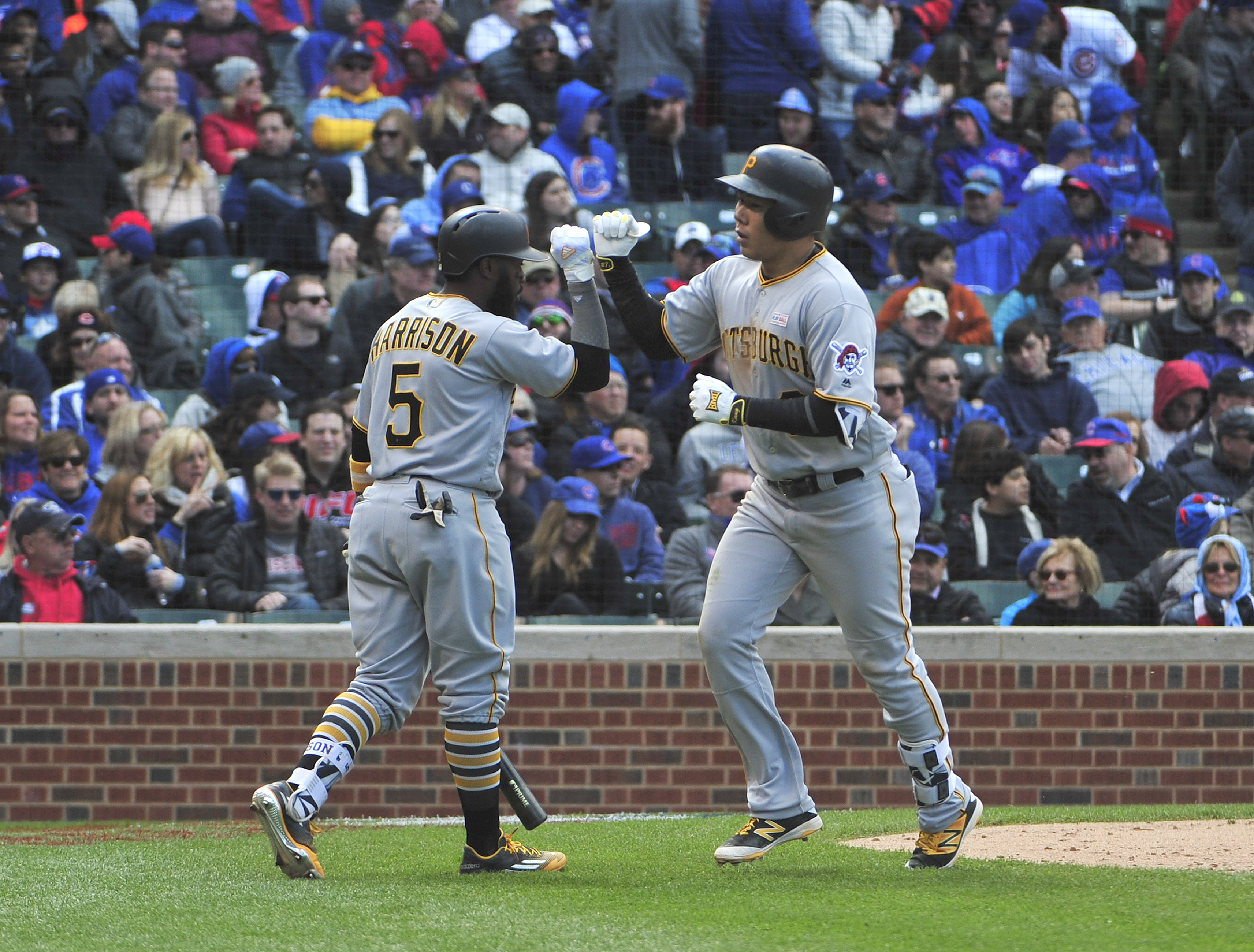 MLB: Pittsburgh Pirates at Chicago Cubs