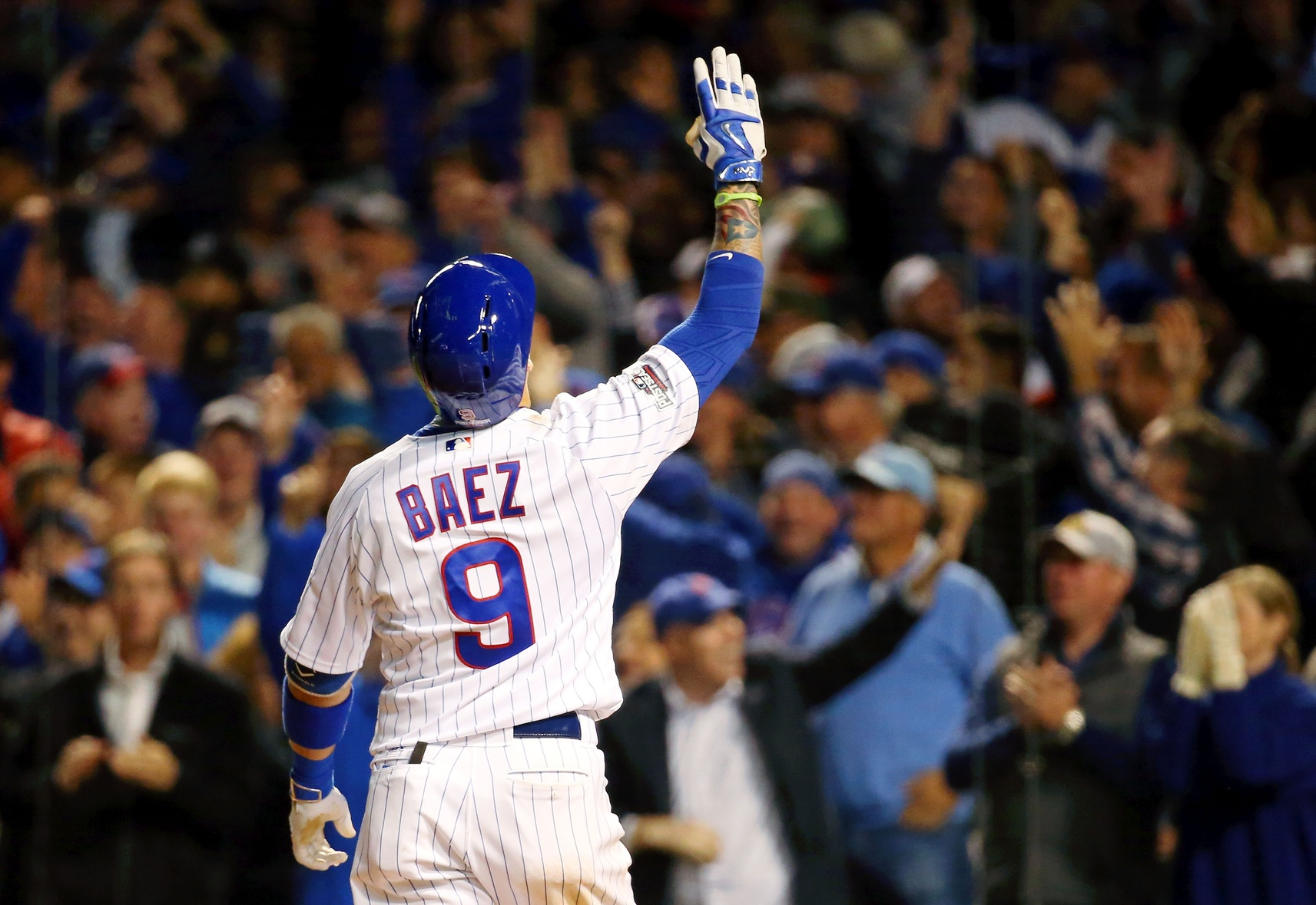 Wood homers as Cubs lead NLDS 2-0