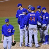 MLB: World Series-Chicago Cubs at Cleveland Indians
