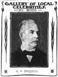 AG Spalding Tribune 1902