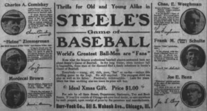 Chicago Daily Tribune, Deceber 19, 1915