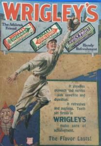Wrigley Gum Cubs Ad 1918