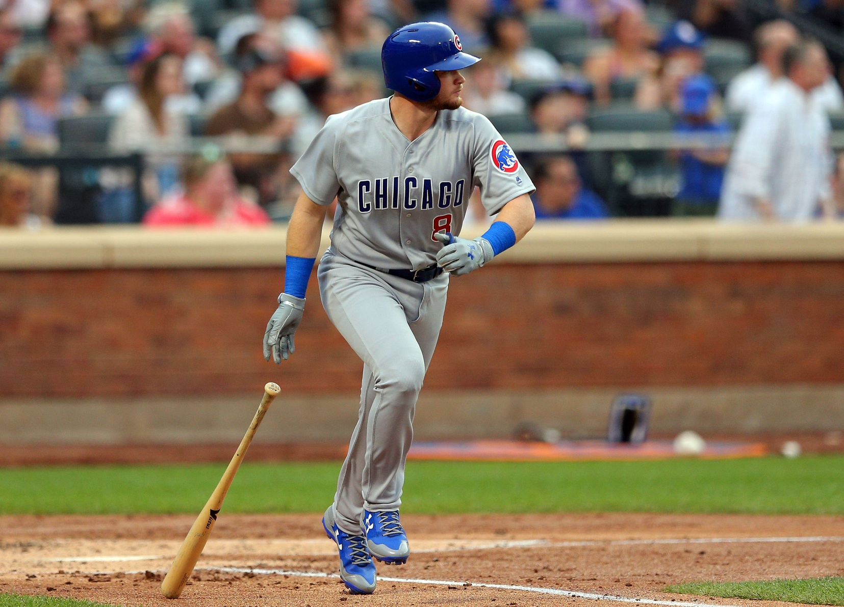 """Batting leadoff, Rizzo homers as Cubs roll"""""""