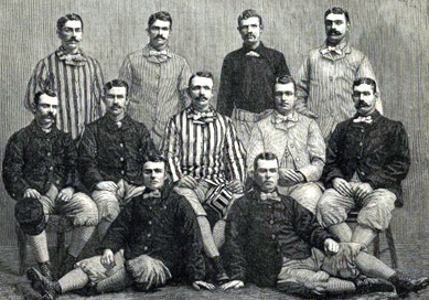 Chicago 1882 team