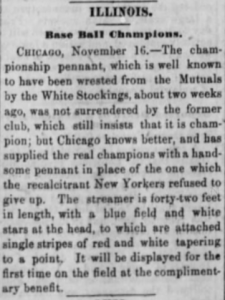 Chicago Tribune, March 10, 1870