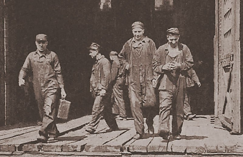 Union Rail Workers in July 1922